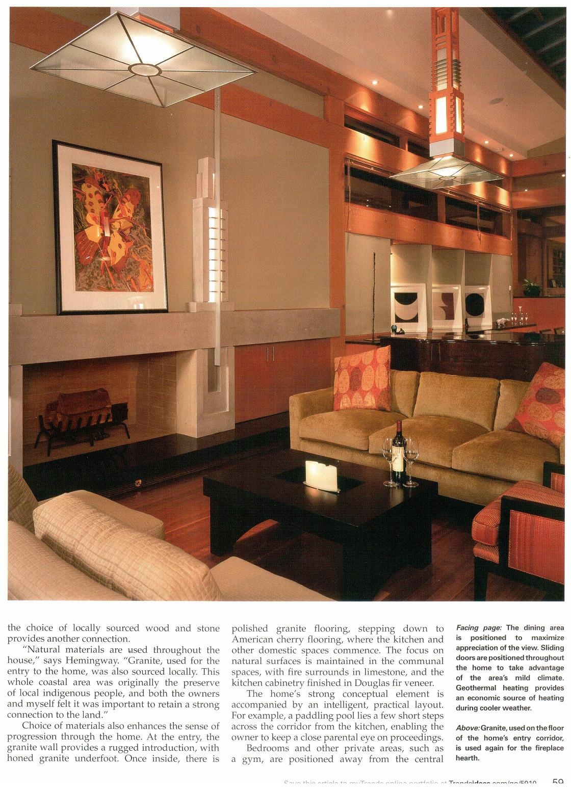 home and architectural trends september 2005